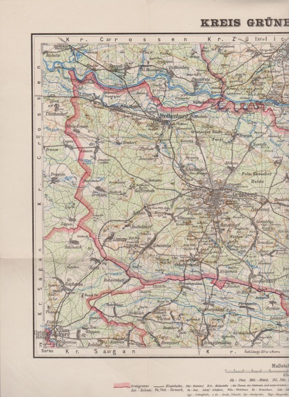 Schlesien Karte Deutsche Ortsnamen.Shop